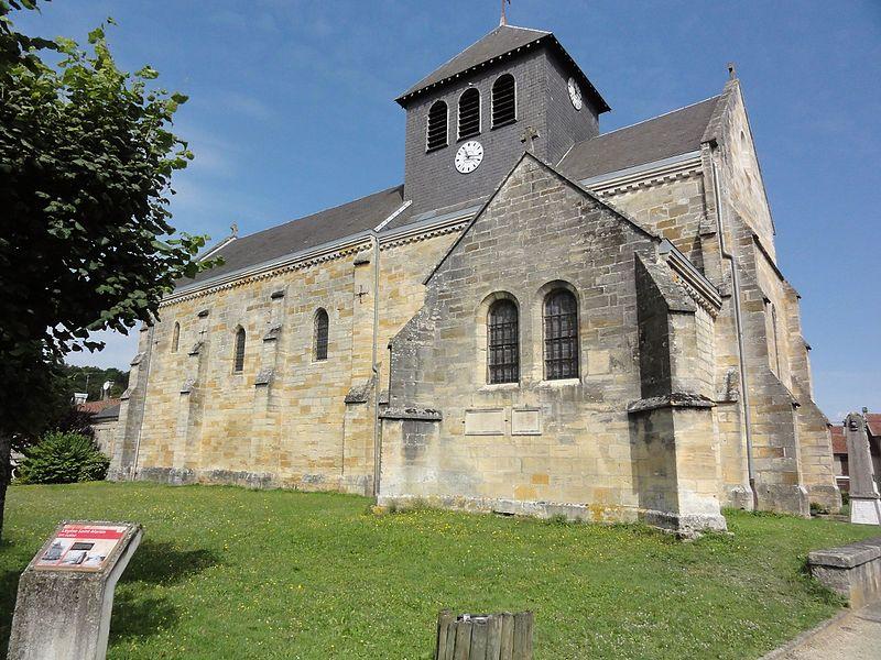 Photo du Monument Historique Eglise Saint-Martin situé à Beurey-sur-Saulx