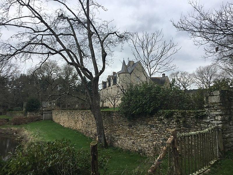 Photo du Monument Historique Manoir de Vau de Quip situé à Allaire