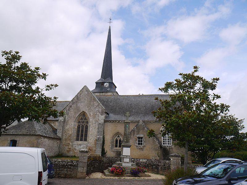 Photo du Monument Historique Eglise Saint-Cyr et Sainte-Julitte situé à Ambon