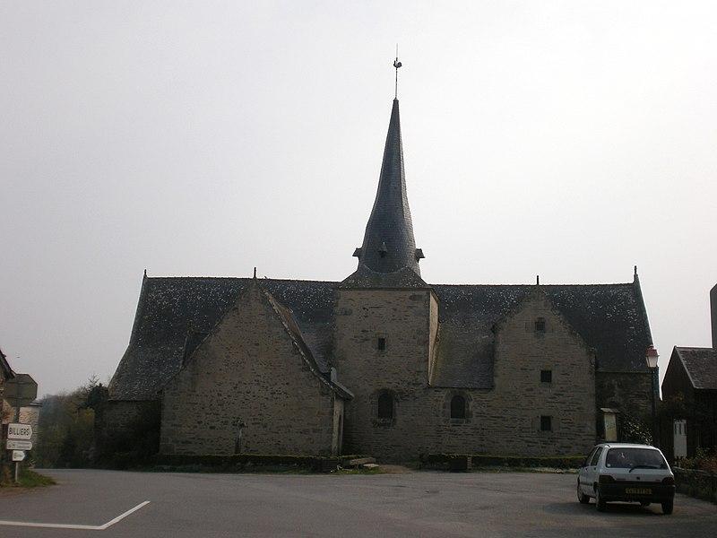 Photo du Monument Historique Chapelle Saint-Jean-Baptiste de Lantierne situé à Arzal
