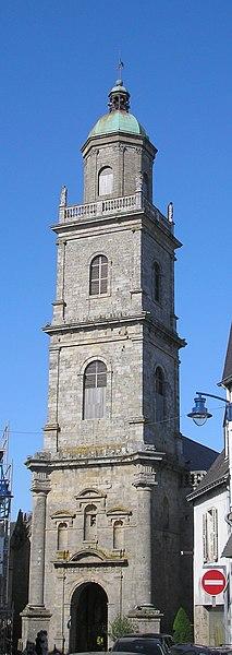 Photo du Monument Historique Eglise Saint-Gildas situé à Auray