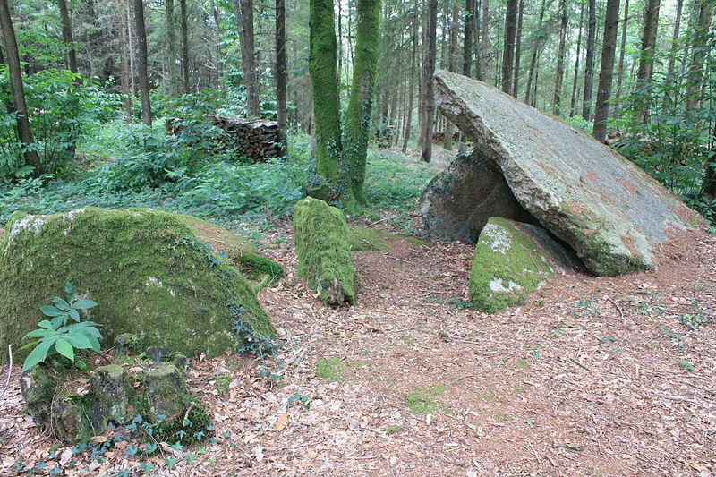 Photo du Monument Historique Allée couverte situé à Baud