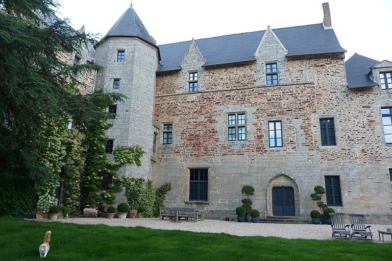 Photo du Monument Historique Château de l'Etier situé à Béganne