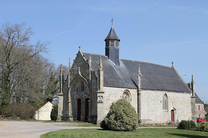 Photo du Monument Historique Chapelle Notre-Dame-des-Vertus situé à Berric