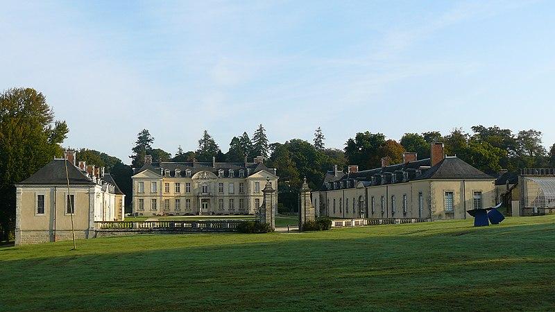 Photo du Monument Historique Château de Kerguéhennec et ses dépendances situé à Bignan