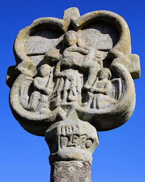 Photo du Monument Historique Croix de Treuliec situé à Bignan
