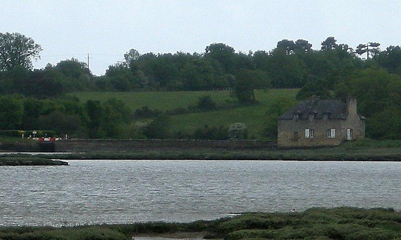 Photo du Monument Historique Moulin de Kervilio situé à Bono