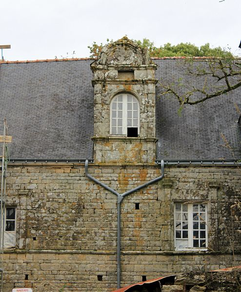 Photo du Monument Historique Manoir de Kergal situé à Brandivy