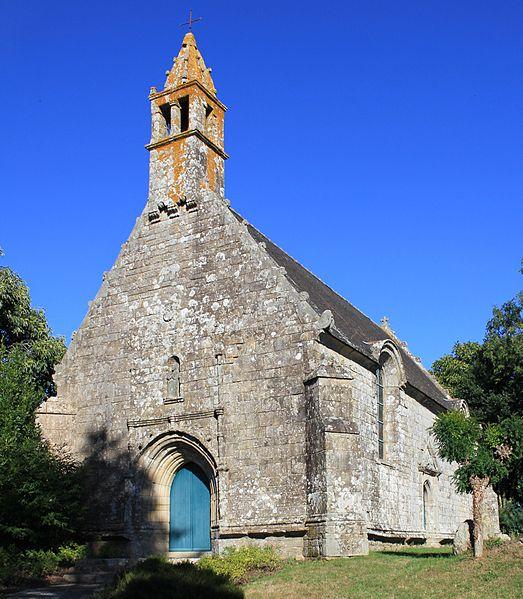 Photo du Monument Historique Chapelle Notre-Dame-de-Tréavrec situé à Brech