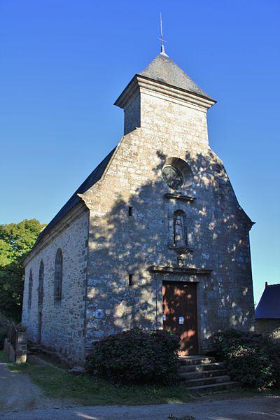 Photo du Monument Historique Chapelle Saint-Quirin, ancienne chapelle du manoir de Kerivallan situé à Brech