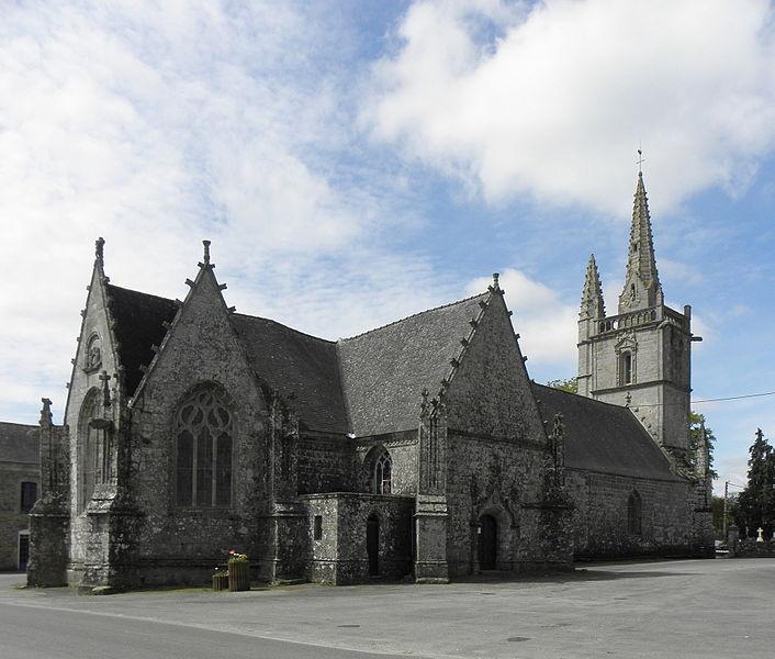 Photo du Monument Historique Chapelle Saint-Yves situé à Bubry