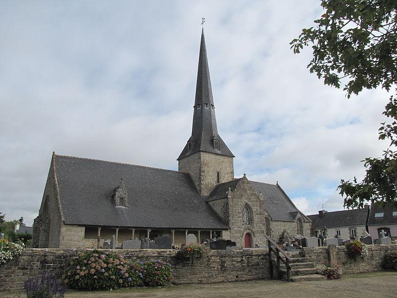 Photo du Monument Historique Eglise de la Trinité situé à Calan