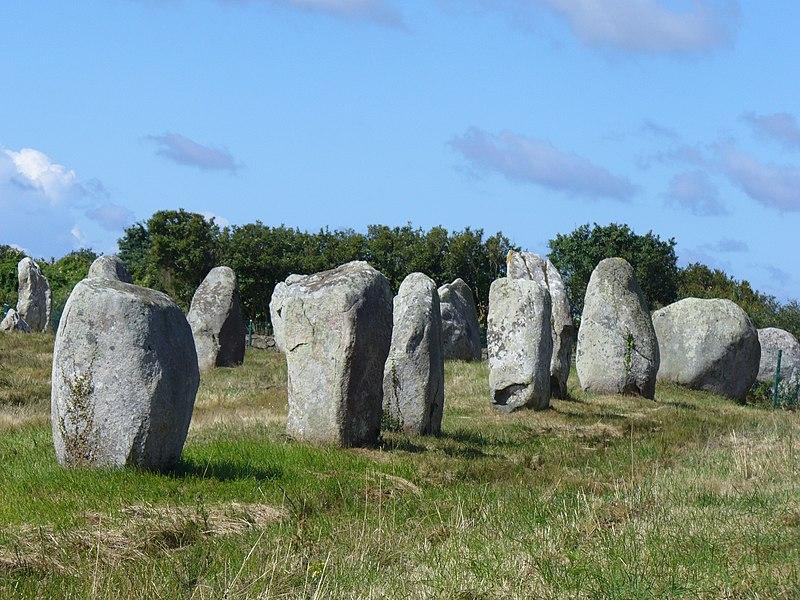 Photo du Monument Historique Alignement du Ménec situé à Carnac
