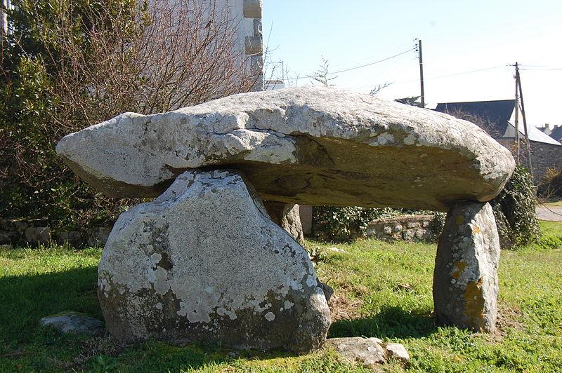 Photo du Monument Historique Dolmen de Beaumer situé à Carnac