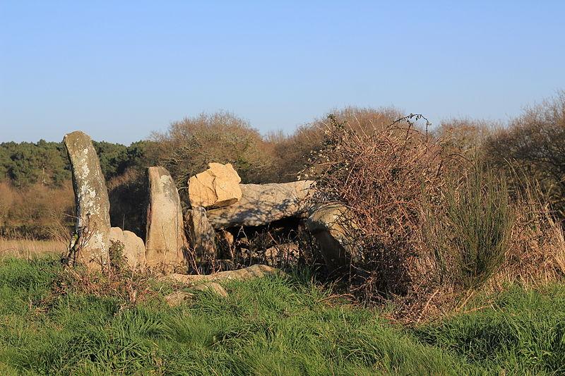Photo du Monument Historique Deuxième dolmen à galerie, dit Er-Roch-Vras situé à Carnac