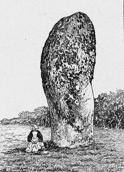 Photo du Monument Historique Menhirs de Kerderff situé à Carnac