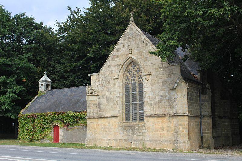 Photo du Monument Historique Chapelle Notre-Dame-de-Trescoët situé à Caudan