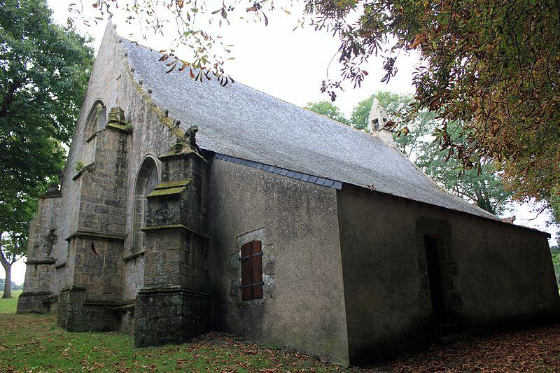 Photo du Monument Historique Chapelle Notre-Dame-de-Vérité situé à Caudan