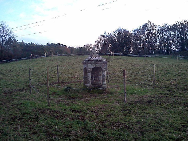 Photo du Monument Historique Fontaine de Trescoët situé à Caudan