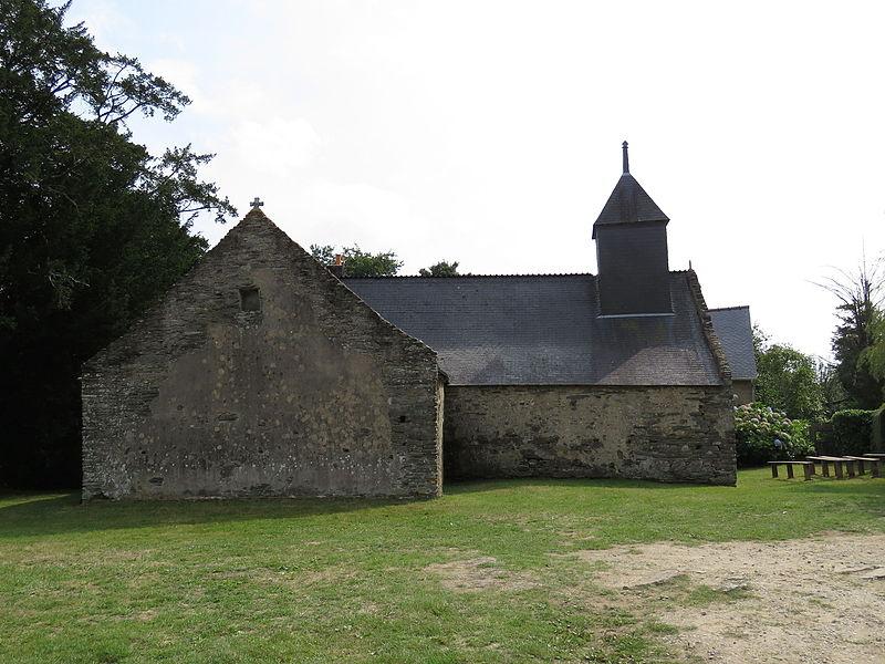 Photo du Monument Historique Chapelle Saint-Méen situé à Chapelle-Caro (La)