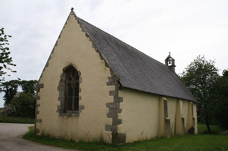 Photo du Monument Historique Chapelle Saint-Guénaël situé à Cléguer