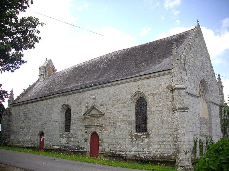 Photo du Monument Historique Chapelle Notre-Dame de Kerdroguen situé à Colpo