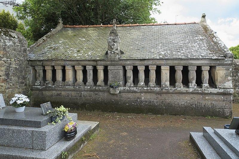 Photo du Monument Historique Cimetière situé à Crach