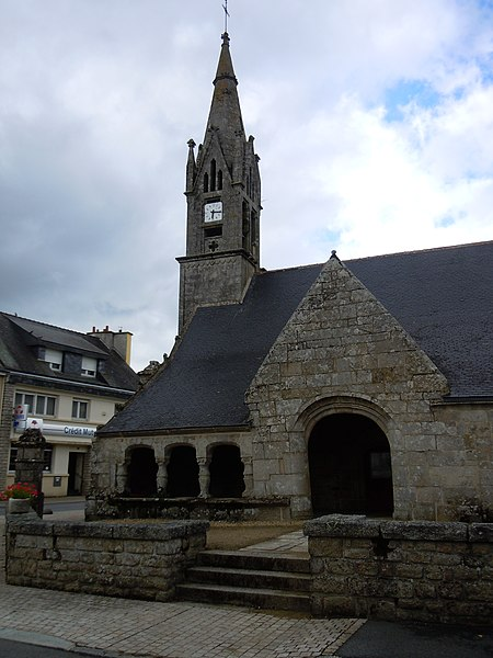 Photo du Monument Historique Eglise Saint-Jean-Baptiste situé à Le Croisty