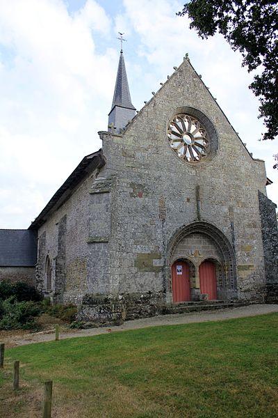 Photo du Monument Historique Chapelle Saint-Maudé situé à Croix-Helléan (La)