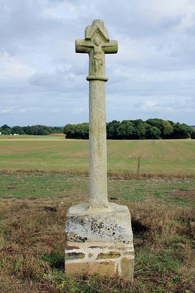 Photo du Monument Historique Croix de la Ville-Côte situé à La Croix-Helléan