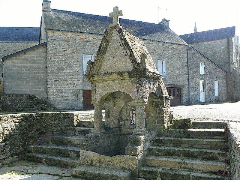 Photo du Monument Historique Fontaine de Saint-Brieuc situé à Cruguel