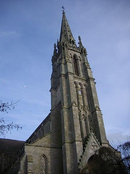 Photo du Monument Historique Eglise Saint-Alban situé à Elven