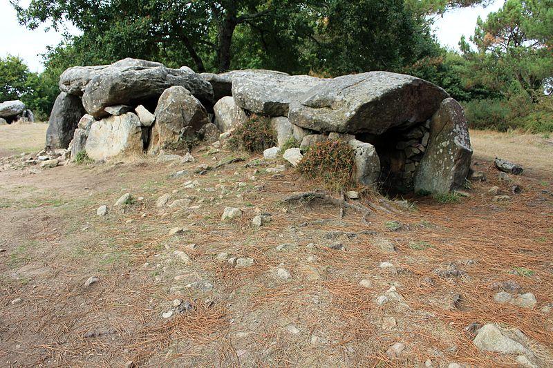 Photo du Monument Historique Dolmens de Mané-Bras dits Lann-Mané-Bras situé à Erdeven