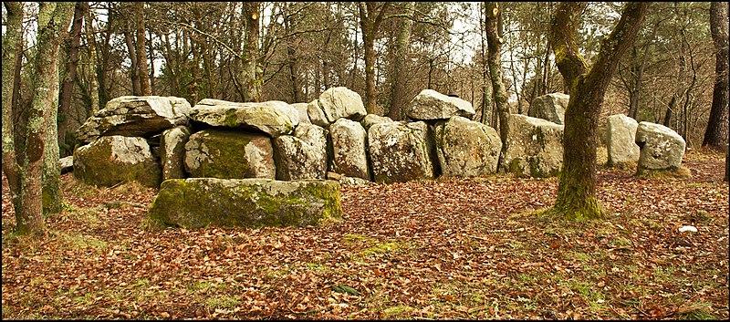 Photo du Monument Historique Dolmen de Mané-Groh situé à Erdeven