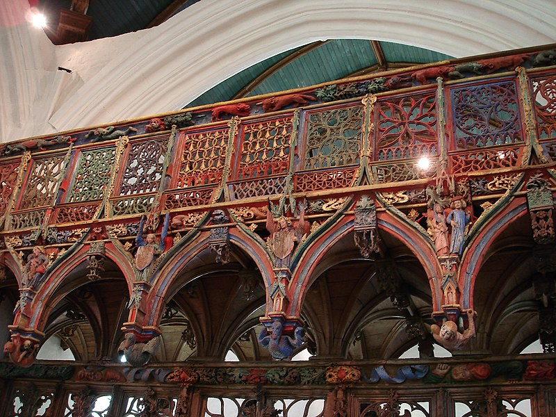 Photo du Monument Historique Chapelle Saint-Fiacre situé à Le Faouët