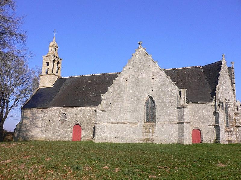 Photo du Monument Historique Chapelle Saint-Sébastien situé à Le Faouët