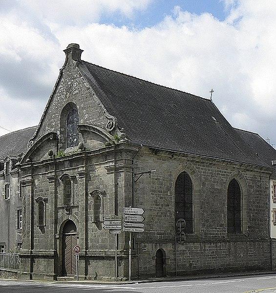 Photo du Monument Historique Ancien couvent des Ursulines situé à Le Faouët
