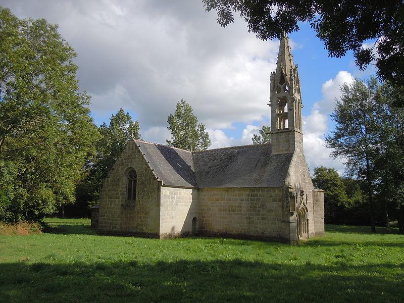 Photo du Monument Historique Chapelle Saint-Hervé situé à Gourin
