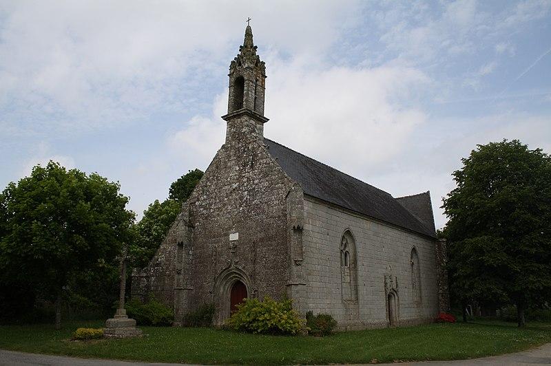 Photo du Monument Historique Chapelle Saint-Nicolas situé à Gourin