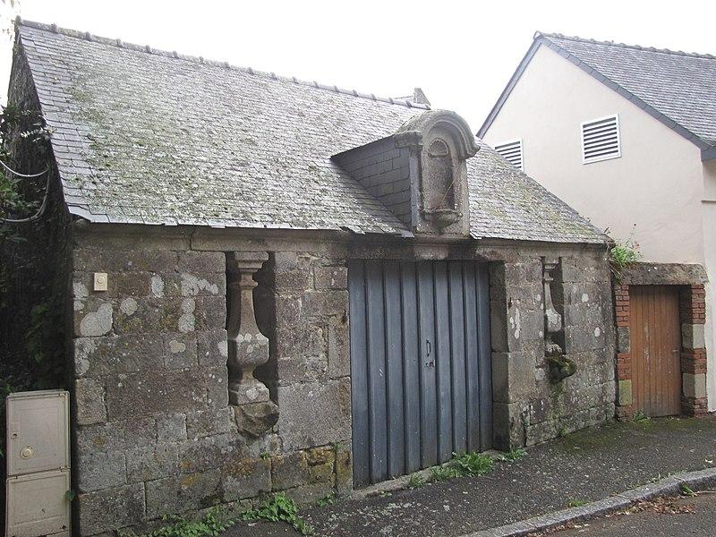 Photo du Monument Historique Ossuaire situé à Gourin