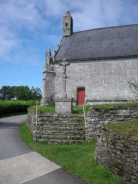 Photo du Monument Historique Chapelle Sainte-Brigitte situé à Grand-Champ