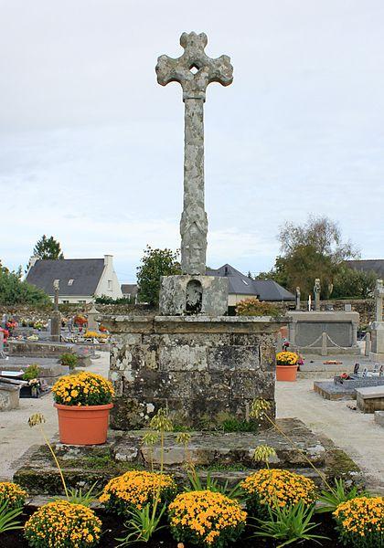 Photo du Monument Historique Cimetière situé à Grand-Champ