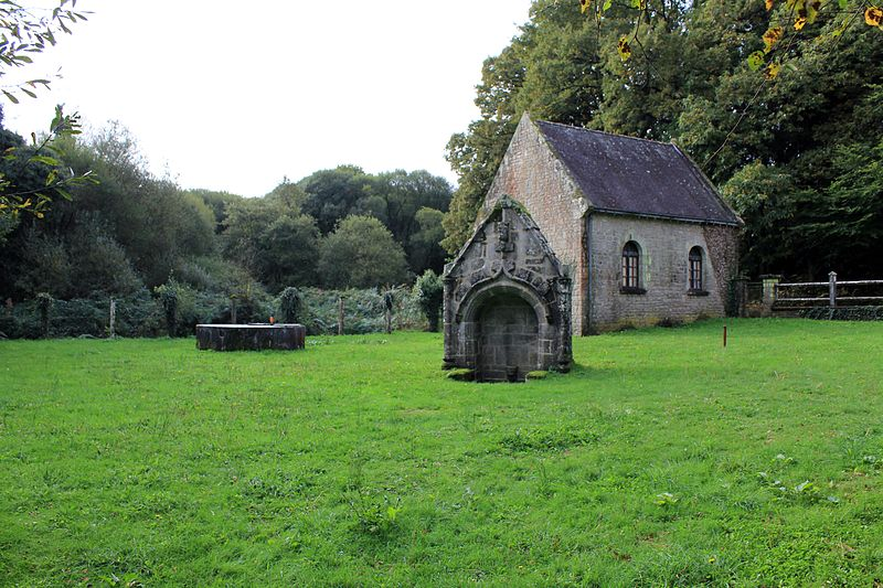 Photo du Monument Historique Fontaine de Burgo situé à Grand-Champ