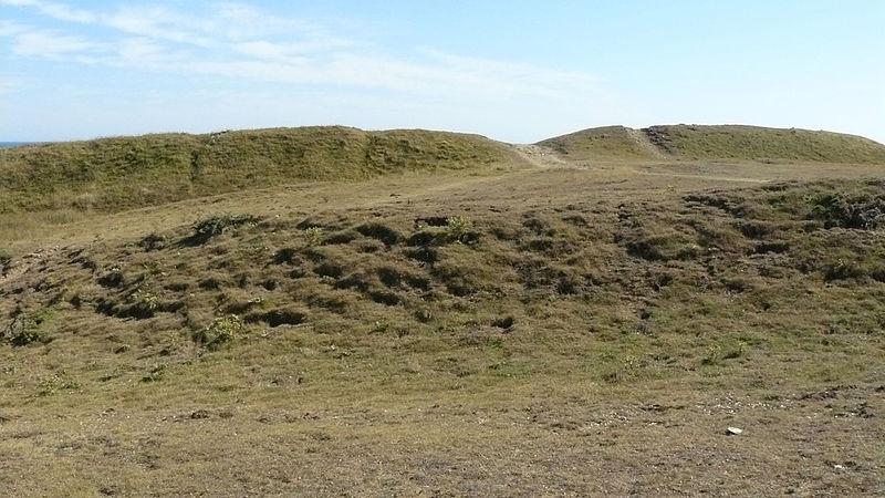 Photo du Monument Historique Camp gaulois de la pointe de Kervédan situé à Groix