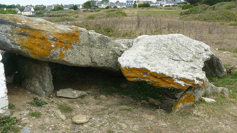 Photo du Monument Historique Dolmen dit de Vagouar-Huen situé à Groix