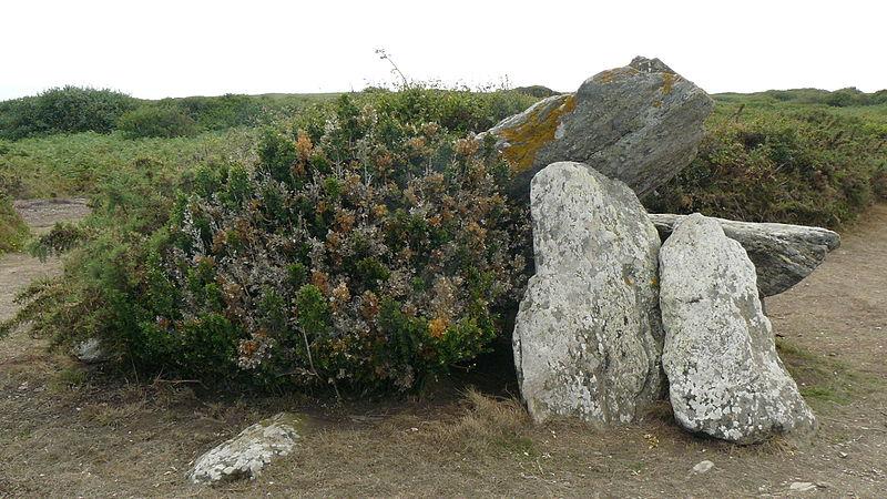 Photo du Monument Historique Dolmens dits Men Cam et Men Yann situé à Groix