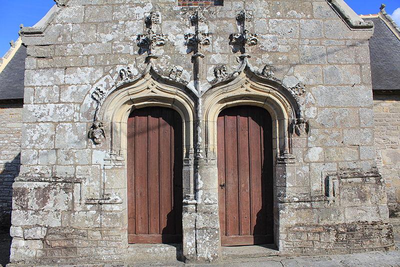 Photo du Monument Historique Chapelle Saint-Mélèc de Tréganteur situé à Guégon