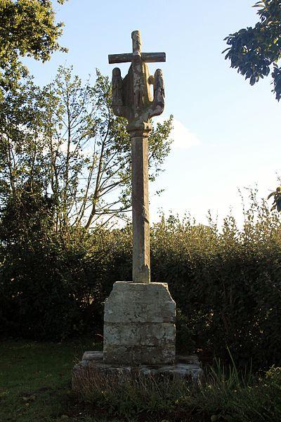 Photo du Monument Historique Croix Forhan situé à Guégon