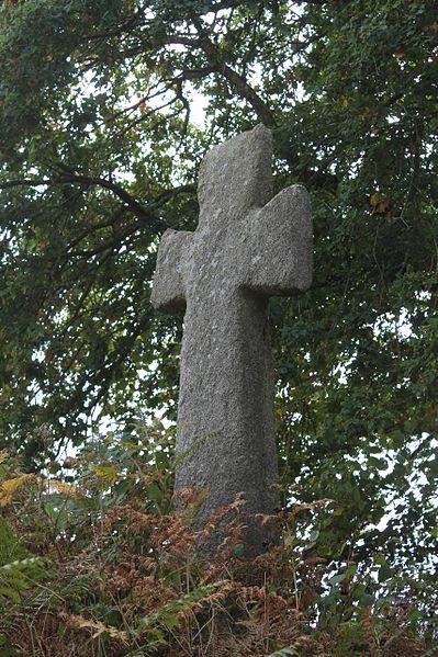 Photo du Monument Historique Croix monolithe situé à Guéhenno