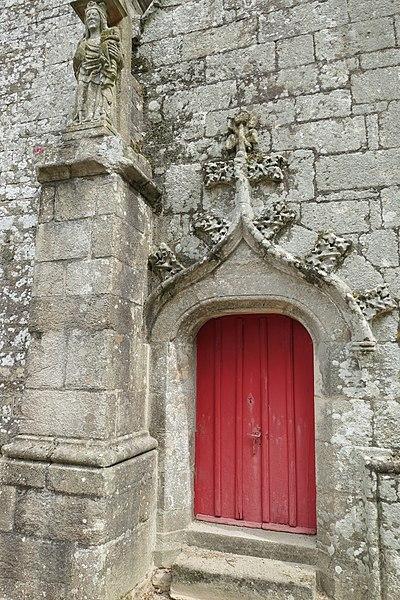 Photo du Monument Historique Eglise Saint-Pierre et Saint-Jean-Baptiste situé à Guéhenno